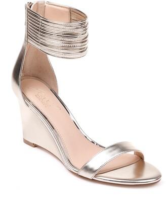 Badgley Mischka Starry Ankle Strap Wedge