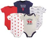 Luvable Friends Blue & Red Crayfish Bodysuit Set - Infant