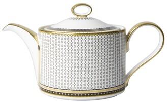 Royal Crown Derby Oscillate Onyx Teapot