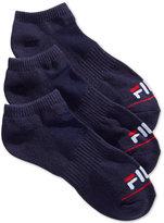 Fila Women's 3-Pk. Toe Logo No-Show Socks