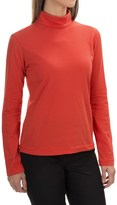 Neon Buddha Turtleneck - Stretch Cotton, Long Sleeve (For Women)