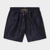 Paul Smith Men's Black Long Swim Shorts