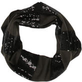 Alice + Olivia Sequinned Striped Scarf