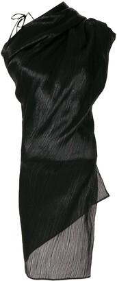 Roland Mouret Lyan Lame blouse