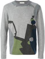 Etro geometric knit sweater