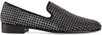 Giuseppe Zanotti Lewis crystal embellished loafers