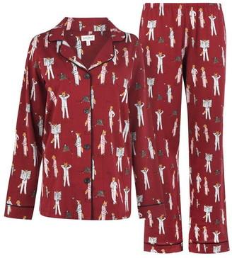 BedHead Foxes Long Sleeve Pyjama Set
