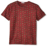 Dolce & Gabbana Crown Print Short Sleeve T-Shirt (Big Kids)