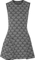 Markus Lupfer Krystle jacquard-knit mini dress