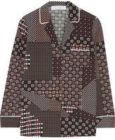 Thakoon Printed Crepe De Chine Shirt