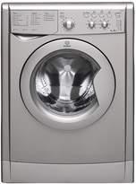 Indesit IWDC6125S 1200 Spin, 6kg Wash, 5kg Dry Washer Dryer - Silver