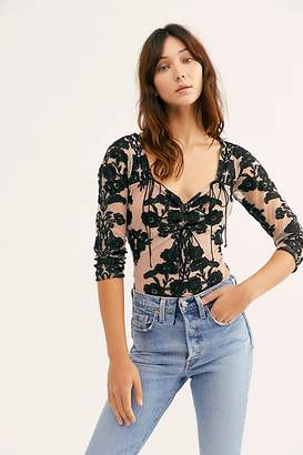 For Love & Lemons Temecula Long Sleeve Bodysuit by at Free People