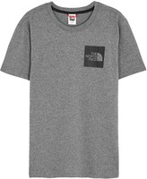 The North Face Grey Logo-print Cotton T-shirt