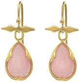 Cathy Waterman Pink Opal Bow Top Thorn Earrings