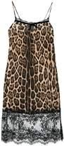 Twin-Set leopard printed shift dress