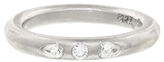 Cathy Waterman Pear and Round Diamond Band