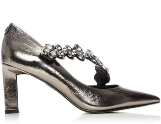 Moda In Pelle Cillania Pewter Leather