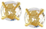 Vince Camuto Gold-Tone Crystal Stud Earrings
