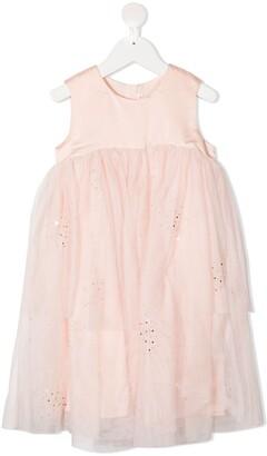 Billieblush Tiered Tulle Layer Dress