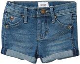 Hudson Roll Cuff Denim Shorts (Baby) - Hippie Sky - 24 Months