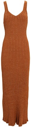 Significant Other Goldie Rib Knit Midi Dress