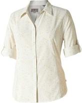 Royal Robbins Women's Expedition Chill Sky Print 3/4 Sleeve Shirt