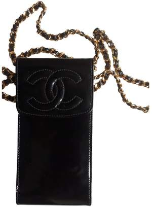 Chanel \N Black Patent leather Clutch bags