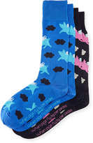 Per Pedes Two-Pair When Pigs Fly Sock Set