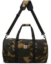 Carhartt Work In Progress Khaki Camo Wright Duffle Bag