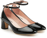 Repetto Patent Leather Pumps with Ankle Straps