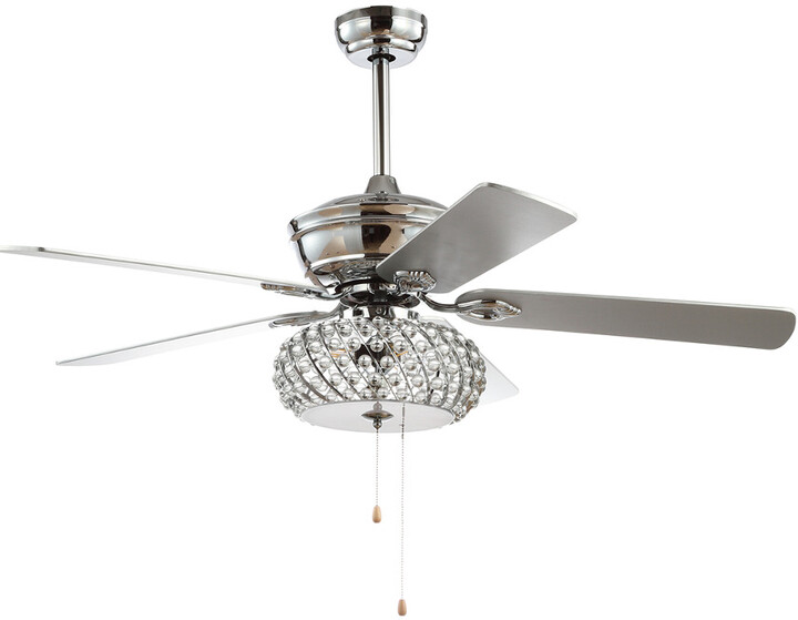 Thumbnail for your product : Jonathan Y Designs Crista 52In 3-Light Metal/Wood Led Ceiling Fan
