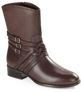 Lauren Ralph Lauren Maya Leather Ankle Boots