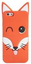 MAISON KITSUNÉ Fox Iphone 6 Case - Blue