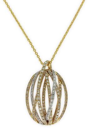 Effy Doro 14K Yellow Gold and Diamond Pendant Necklace
