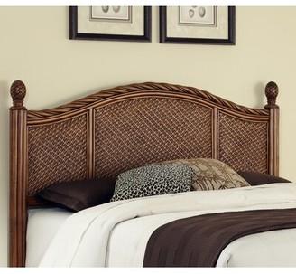 Beachcrest Home Dessie Panel Headboard Size: Queen/Full, Color: Cinnamon