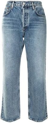 AGOLDE Ripley mid-rise cropped jeans