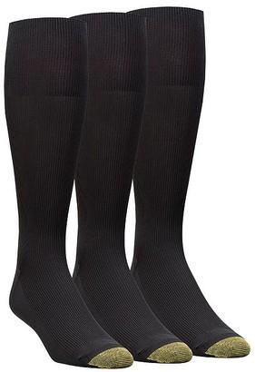 Gold Toe Metropolitan Nylon Dress Socks 3-Pack