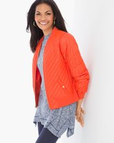 Chico's Carrie Quilt Detail Jacket