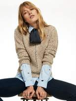 Scotch & Soda Knitted Crew Neck Pullover
