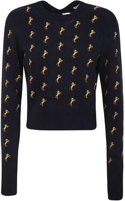 Chloé Horse Print Pullover