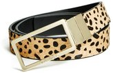 GUESS Reversible Leopard-Print Belt