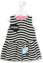 Fendi striped dress - kids - Cotton/Spandex/Elastane - 6 mth