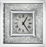 A&B Home 16In Astrid Mirrored Wall Clock