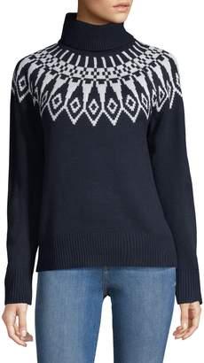 Tommy Hilfiger Fair Isle Turtleneck Sweater
