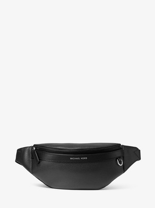 Michael Kors Greyson Pebbled Leather Sling Pack