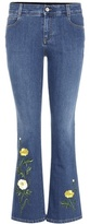 Stella McCartney Embroidered Jeans