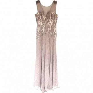 BCBGMAXAZRIA Beige Lace Dress for Women