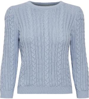 Gestuz Xenon Blue Rawan Pullover - s   cotton   Xenon Blue