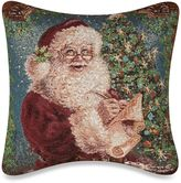 Bed Bath & Beyond Christmas Magic 17-Inch Square Tapestry Accent Pillow