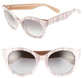 Kate Spade 'melly' 53mm Sunglasses